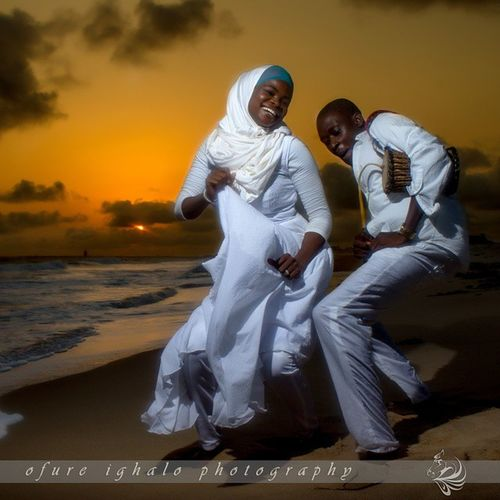 Maryam and Bola pre-wedding.. Always fun working with them Ofureighalo Reycortez Weddings