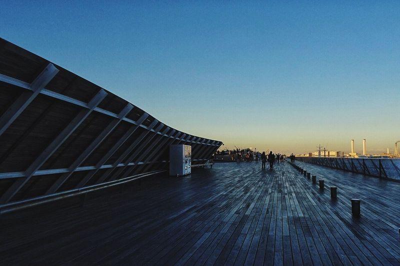 Yokohama The Journey Is The Destination Traveling Travel Sightseeing Sunset Brige Ships Showcase July