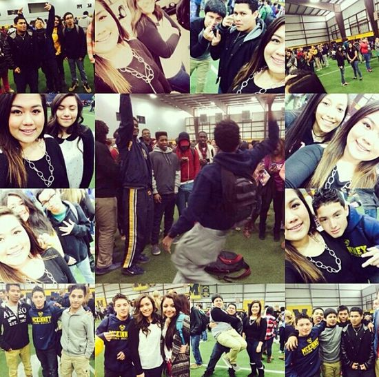 Fun times at the Dome but Evacuation last Monday McKinney High