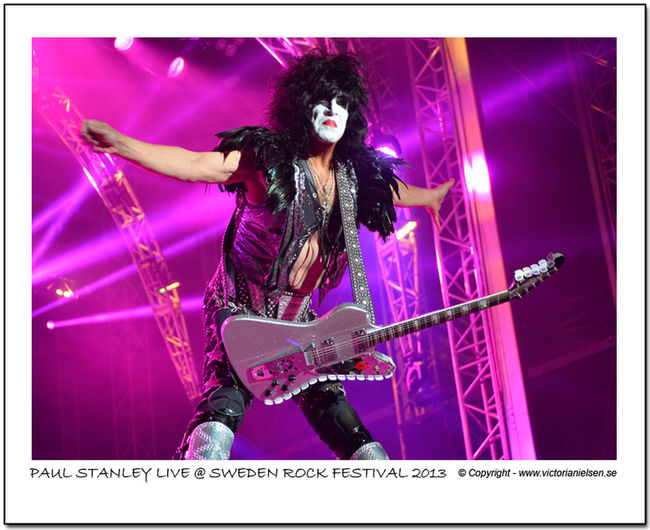 Rocknroll RockNRollNight Kiss Paulstanley Swedenrock Swedenrockfestival