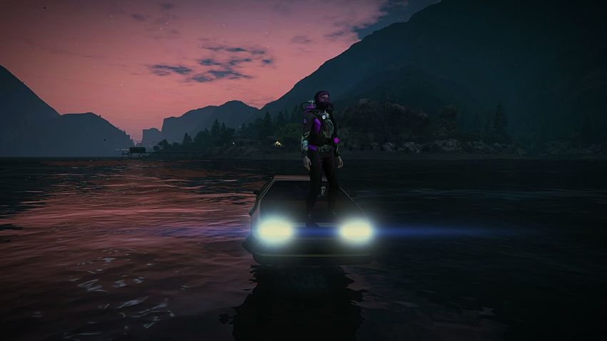 gta is one world perfect to imagination! GTA GrandTheftAuto GTAVONLINE Gtaphotographers Mountain Business Finance And Industry One Person Water Adult Adventure Lake