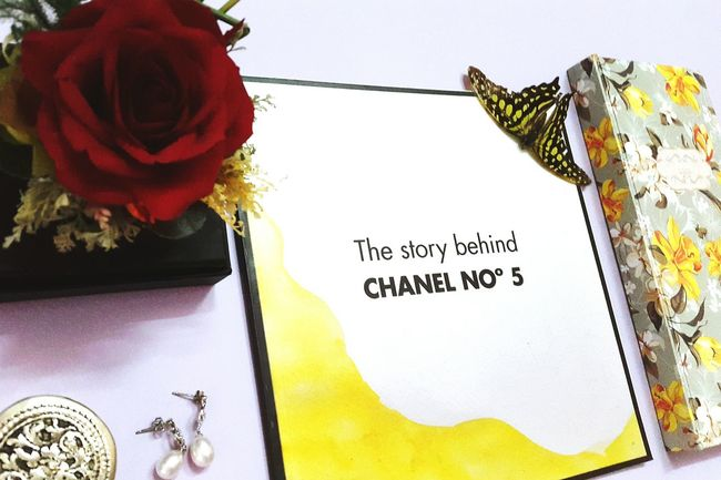 Flatlay Chanel Chanelno5 Taken By Me Illustration Book Madebyme Eyeemvietnam