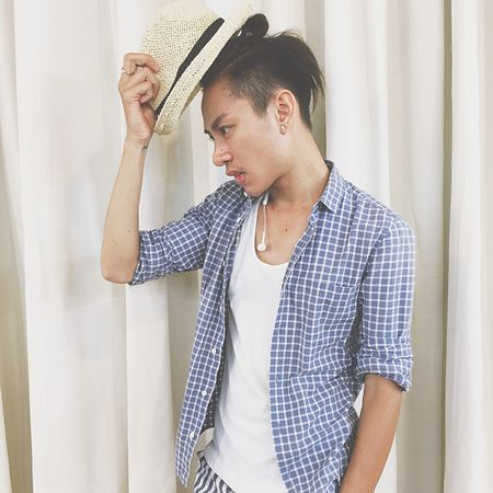 EyeEm Selects One Person Indoors  Waist Up Young Adult Adult Lifestyles Casual Clothing Wall - Building Feature Looking Curtain Standing Leisure Activity Home Interior Young Men Hairstyle Hair Teenager