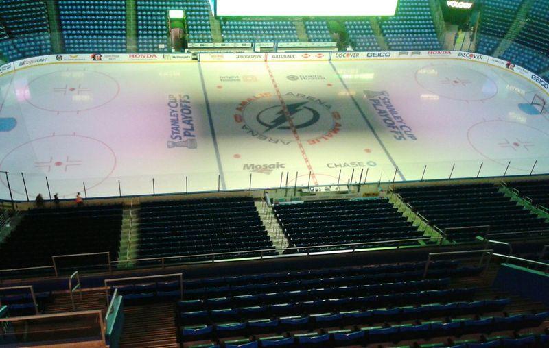 Tampa Bay Lightning PLayoffs2015 Ice Tampabay