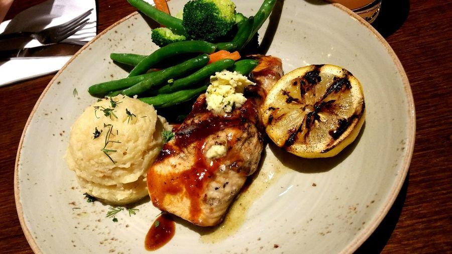 Delicious Catchoftheday Salmonsteak Freshfromthesea Freshcatch Omega 3 Goodness Appreciating Life