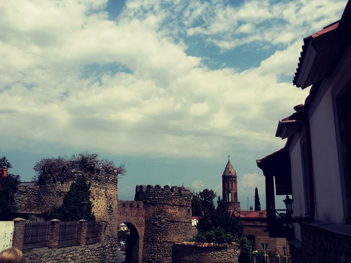 I Found Peace Architecture Built Structure Sky Day Outdoors City Of Love♡