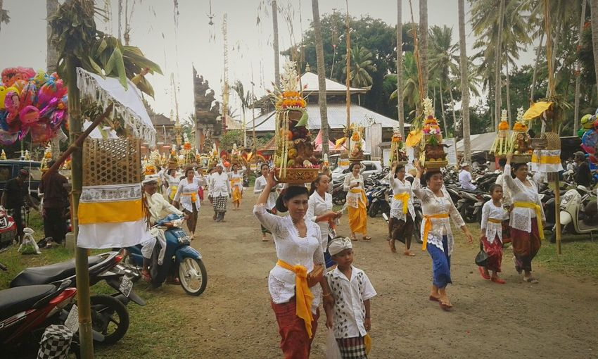 Mepeed Ceremony Culture Adat Bangli Banglikota Bali, Indonesia