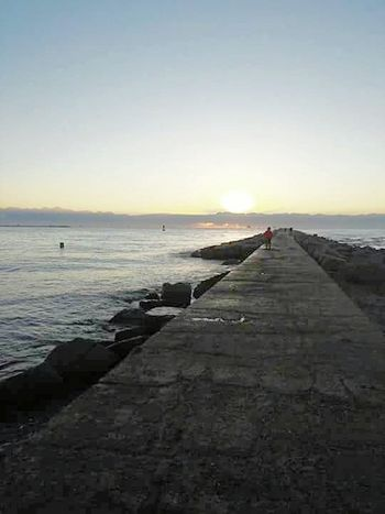 Showcase: November Sunrise_Collection Morning Sunshine The Jetty Big Rocks Ocean View Gulf Of Mexico Beach Photography