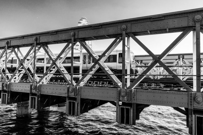 XXXX Black And White Architecture Bridge Built Structure Bridge - Man Made Structure Connection Transportation Nature Sky No People River Day Water Railway Bridge Travel Outdoors Pier Building Exterior