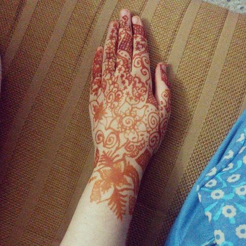 After back. Mehendi Henna Eid Ramzan photo instagram