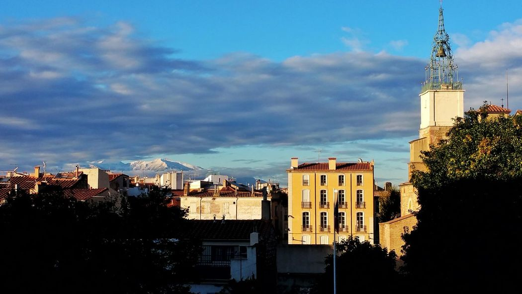 Canigou Mountain Winteriscoming Perpignan Taking Pictures
