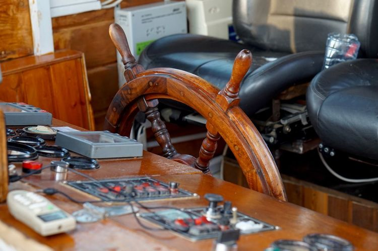 Ship Steringwheel Wheel Helm Ship Boat Cruise Ship EyeEmNewHere Travel Transportation Navigation Indoors  Table Machinery No People Metal High Angle View Industry Still Life Business Technology Close-up Equipment Business Finance And Industry Electronics Industry Circuit Board