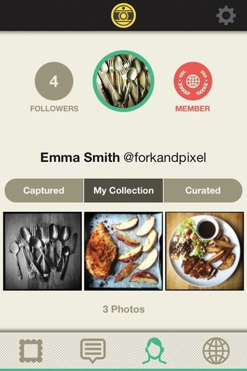Come find me on Oggl under my foodie name @forkandpixel