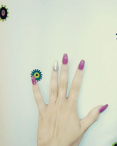 Adding color for the summer Nail Polish Fashion Beauty Fingernail Human Body Part Human Hand Women Painting Fingernails Young Adult