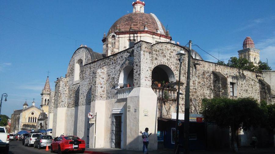 iglesia de la Tercera Orden City Sky Building Exterior Historic Cathedral