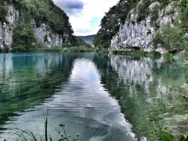 View Water Nature Plitvice National Park Traveling Travel Photography Waves Reflection Sky Clouds Clouds And Sky Croatia The Great Outdoors - 2016 EyeEm Awards Landscape_photography Outside Photography Landscape_Collection EyeEm Nature Lover Quiet Moments Nature_collection No People