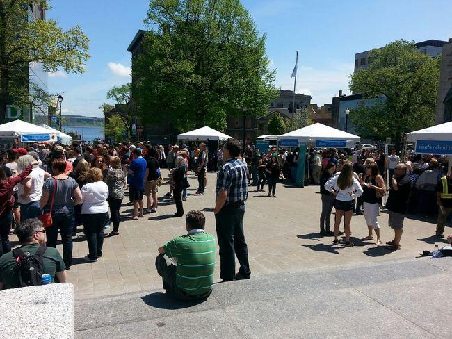 Celebrating Scotland My City Halifax Grand Parade Gathering Lunch Concert