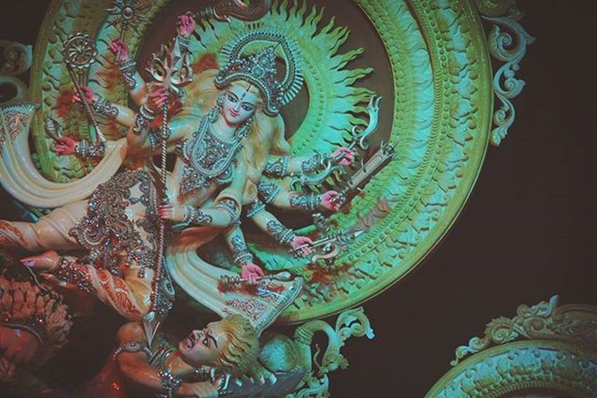 Throwback Puja15 Durgapuja Stature Colors Beauty Culture Randomphotography