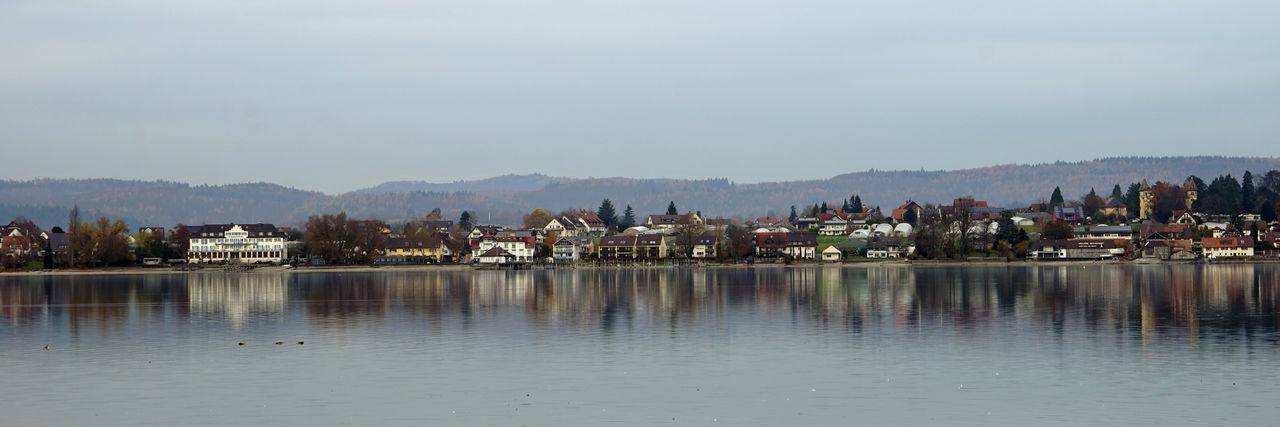 Autumn Collection Autumn Colors Lake Constance Peaceful Reflection Reichenau Shoreline Water Waterfront