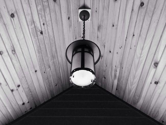 Lamp light BlackandWhite