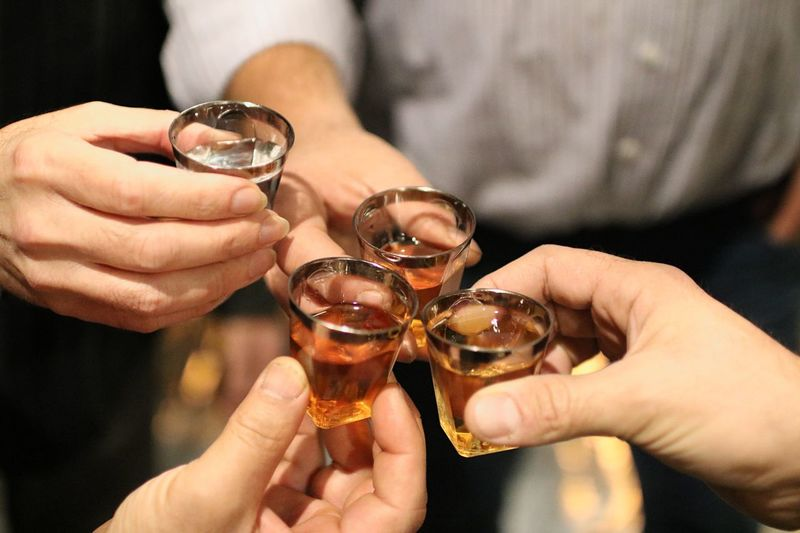 Human Hand Hand Human Body Part Holding Glass Drink Togetherness Food And Drink Alcohol Refreshment Celebration Friendship Celebratory Toast