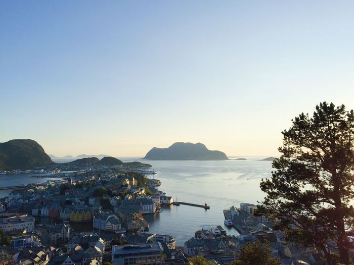 Ålesund aerial view, the harbor, the islands and the Atlantic Ocean at sunset Ålesund, Norway Norway🇳🇴 Idyllic Golden Hour Sunset_collection Sunset City Center Cityview City Landscape City View  Cityscape City Harbour Harbor Ocean View Atlantic Ocean Islands Aerial View Sky Water Clear Sky Scenics - Nature Copy Space Nature Beauty In Nature Tree Land Mountain Outdoors Tranquil Scene