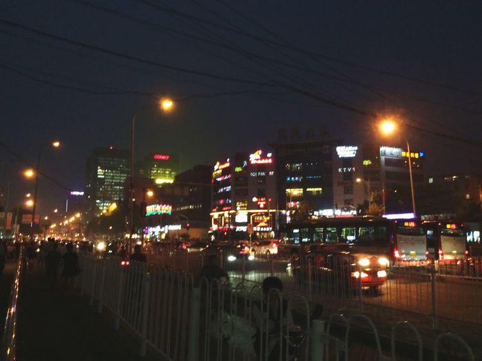 Crazy nights in Beijing.