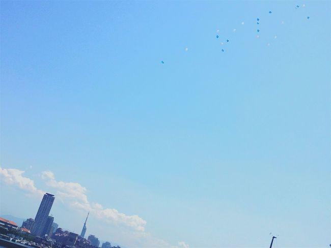 Sky Balloon Sea Happyhappyhappy Hi! Enjoying Life