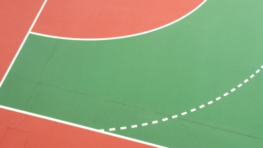 Finding New Frontiers No People Close-up Day HongKong Streetsnap Sport Football Court Colour Lines, Shapes And Curves Local Streetsnap Minimalist Architecture