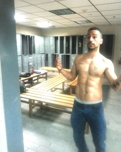 Sexyman Mirror SexyTattoos Fit Gym Time