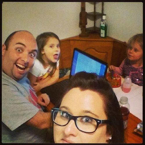 Creepiest family in the neighborhood. Hellyeah Wecool