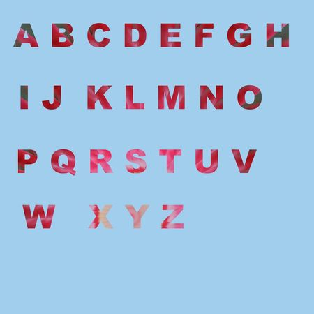 Alphabet Set Alphabet A To Z Colorful alphabet