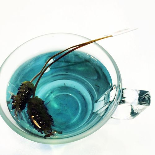 for a good heart.blue tea Blue Relaxing Heart