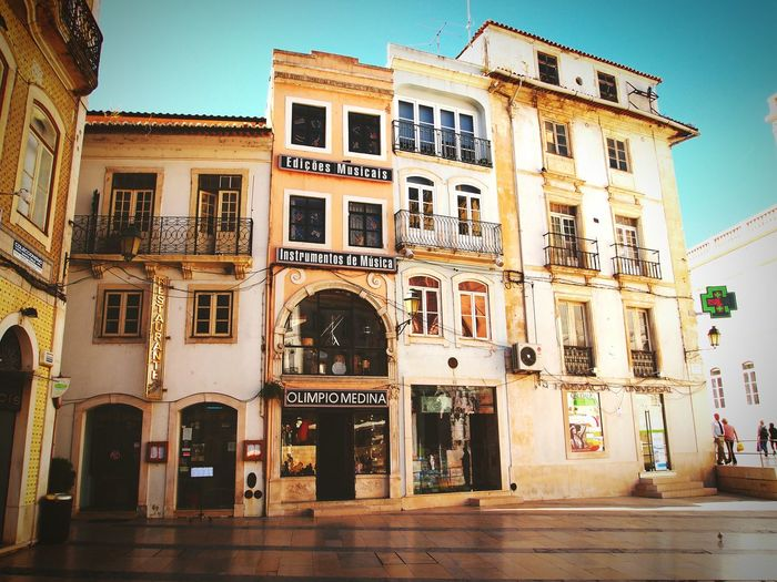 Historic centre of Coimbra, Portugal Building Exterior Façade Old Town Light Colors Decadence Romance Coimbra Portugal Slowlife Oldstyle Takeabreak Calm Stillness EyeEm Gallery Eyeemphotography South Small Square Asymmetry Battle Of The Cities The Architect - 2017 EyeEm Awards The Street Photographer - 2017 EyeEm Awards
