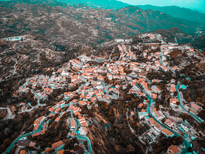 Kyperounda Village Cyprus Traditional Village Lightroom Sony A6500 Dji Mavic Air Above View Nature Contrast Droneshot Village Traditional Town Mountain Summer Aerial View Mountain High Angle View Landscape Urban Scene Destinations Place Location Neighborhood TOWNSCAPE Residential District