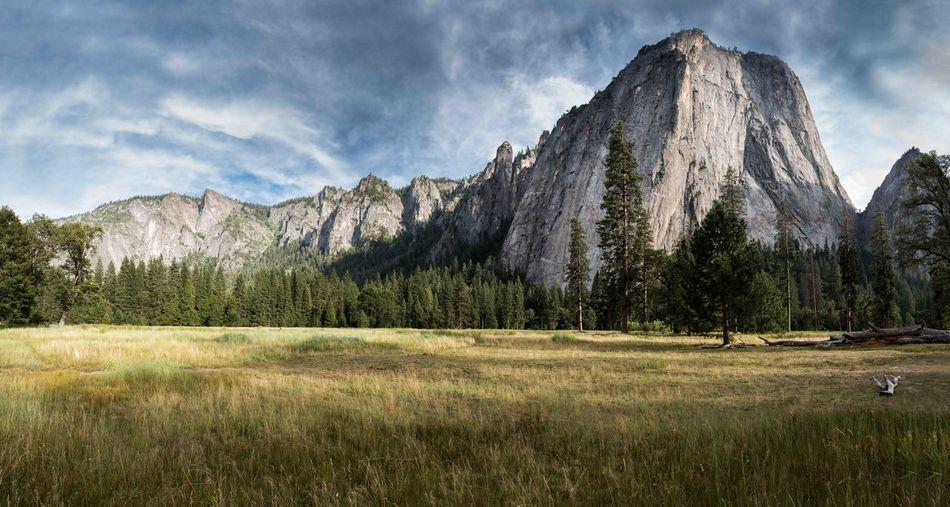 Mountain Scenics - Nature Outdoors Mountain Peak Yosemite National Park Capitan Landscape Backpacking Pradera
