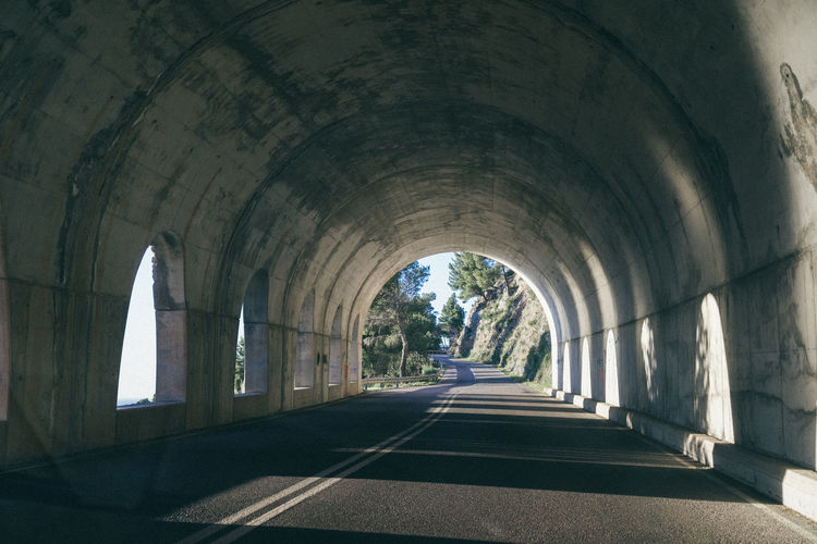 Archway of road
