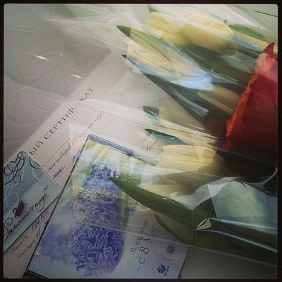 Аееее! Спасибо, коллегушки! восьмоемарта безкреативаникуда бьюти -шмути цветуёчки такиедела аещеисокращенныйдень