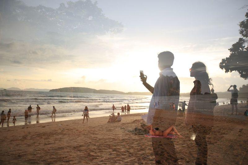 相约黄昏后 Beach