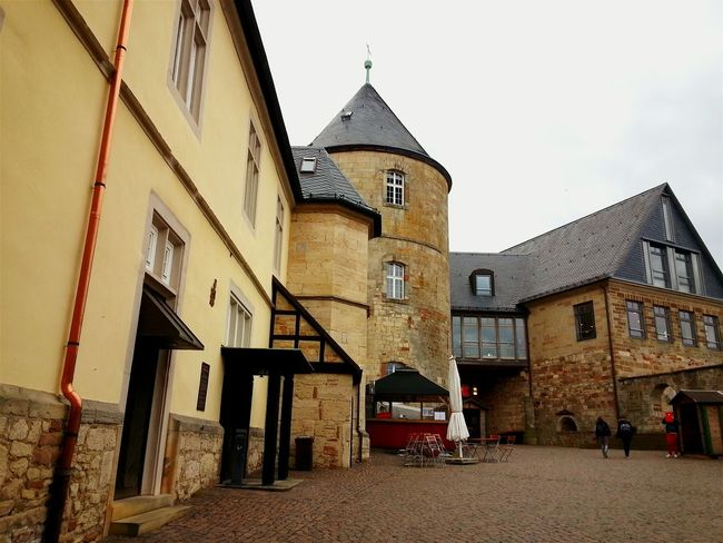 Old Castle Old Buildings Mittelalter