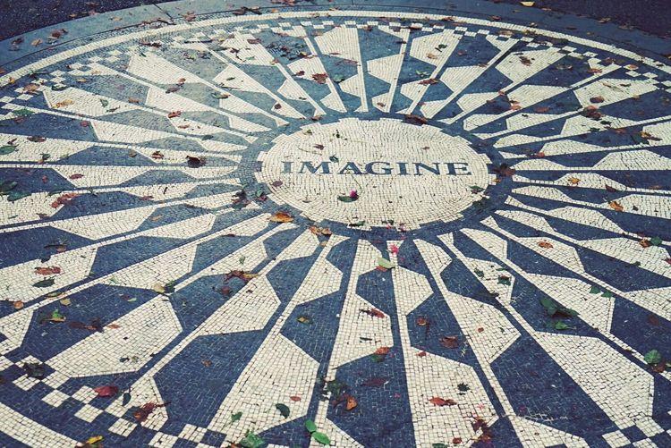Taking Photos Check This Out Hello World New York City New York Imagine Dakota  John Lennon