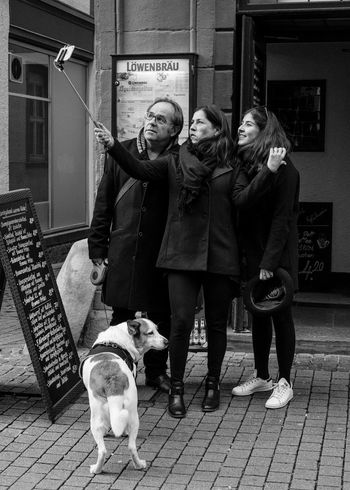 Up Close Street Photography Candid Photography Decisive Moment Candid Portrait Black And White Heidelberg Germany Selfies Selfie Stick Vscocam Travel The Street Photographer - 2016 EyeEm Awards