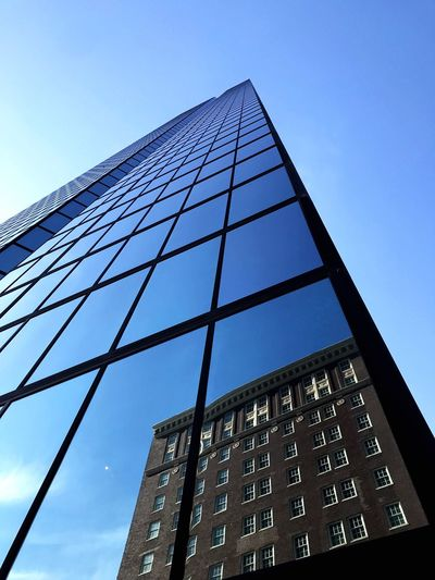 Skyscraper Boston Low Angle View Sky Architecture Built Structure No People Clear Sky Nature Building Exterior Day Building Tower My Best Travel Photo