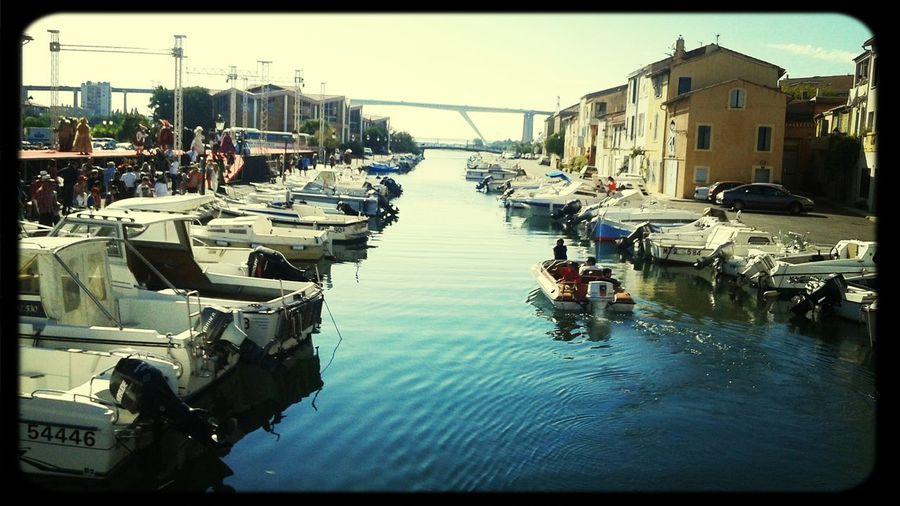 Le canal beaussengue...Martigues