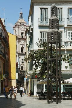 Old city Malaga. Malaga SPAIN España Old City Old Buildings Historical Building Historical Place Hello World Citylife Architecture Enjoying Life Summertime Traveling Sightseeing