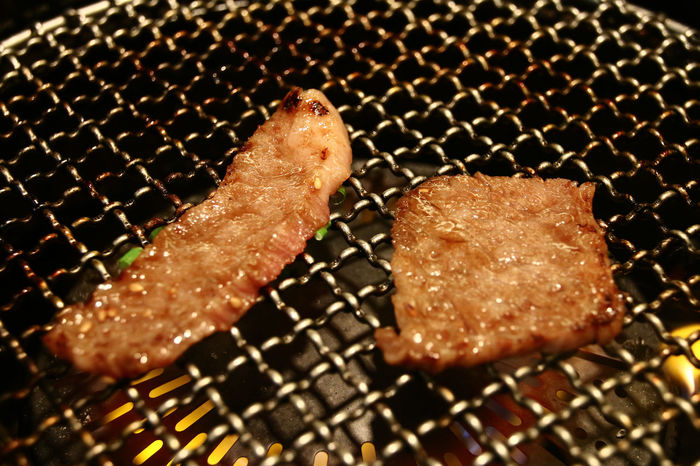 A Taste Of Life Beef Classic Close-up Delicious Dinner Eat Food Food And Drink Grilling Happy Japanese Style Kalbi Korean Food Lifestyles Lowlight Mealtime Meat Restaurant Ribs Snapshots Of Life Still Life The Foodie - 2015 EyeEm Awards Yakiniku Yummy