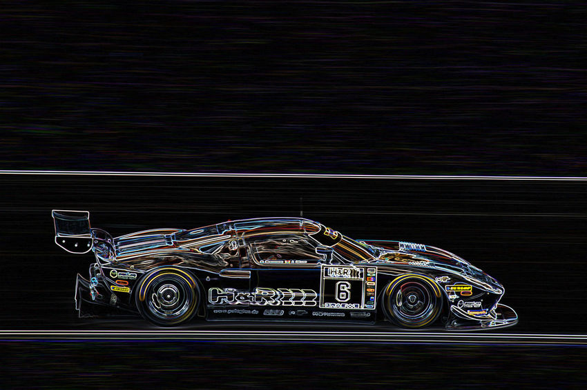 Ford GT Auto Racing Car Foto Art Outdoors Racecar Sports Race Sports Track Transportation