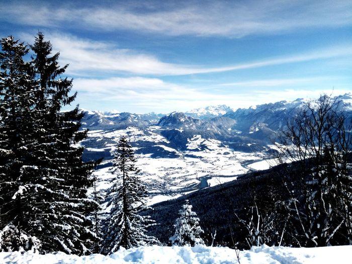 Austria EyeEm Selects Weather Landscape Outdoors Tree Cloud - Sky Day Sky Mountain Range