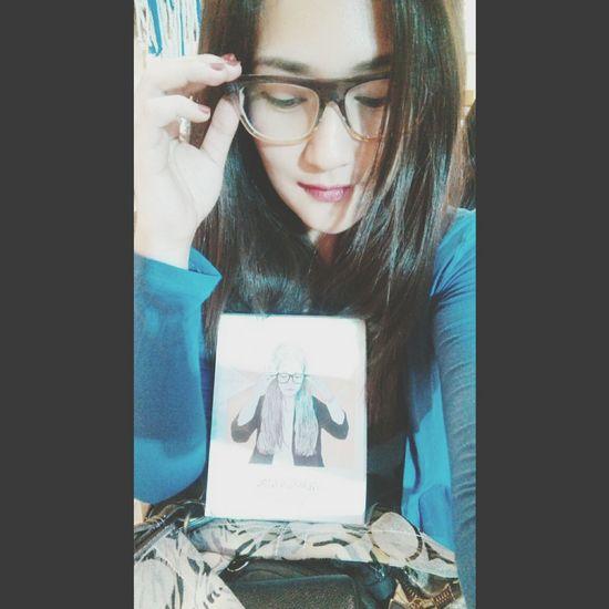 Drawn Bookcover Glassesgirl