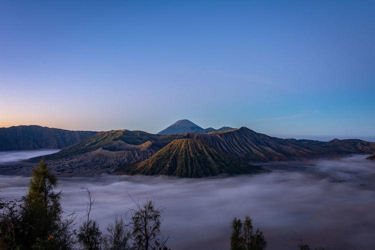 Landscape of mount bromo indonesia